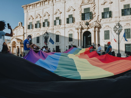Malta Pride 2020 - A Symbolic Demonstration