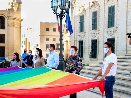 Marking the end of Malta Pride Month 2020