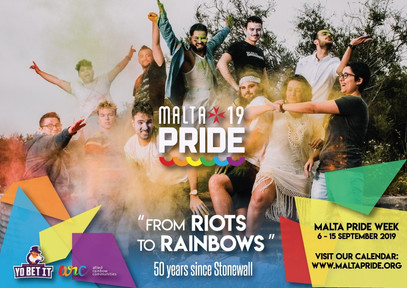 The Malta Pride 2019 Poster