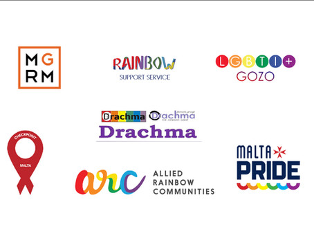 """We are here!"" Malta's LGBTQ+ NGOs join forces to share one message"