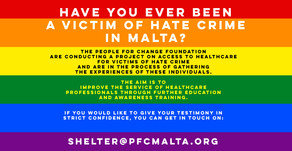 Have you ever been a victim of #HateCrime in Malta?