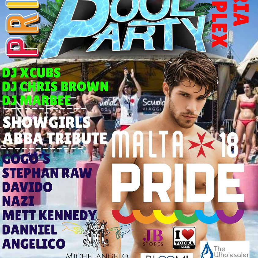 Pride Pool Party hosted by Michelangelo