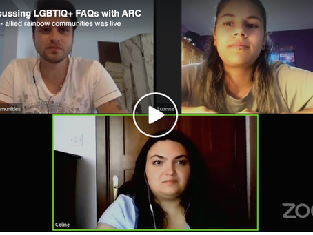 Discussing LGBTIQ+ FAQs with ARC