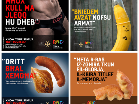 Over 86,000 people saw the arc Sexual Health Campaign