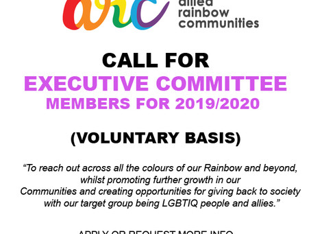Call for ARC Executive Committee (2019/2020)