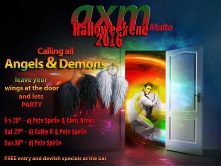 Halloween Weekend at AXM