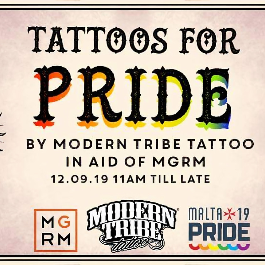 Tats for Pride Fundraiser
