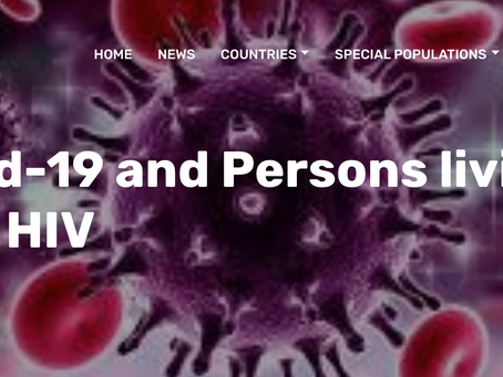 Covid-19 and Persons living with HIV