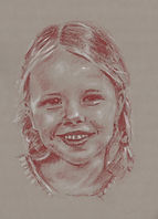 Pastel Portrait - Hand Drawn By Bill Taylor-Beales.