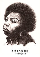 Pastel Portrait - Nina Simone.