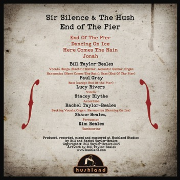 End Of The Pier - Back Cover