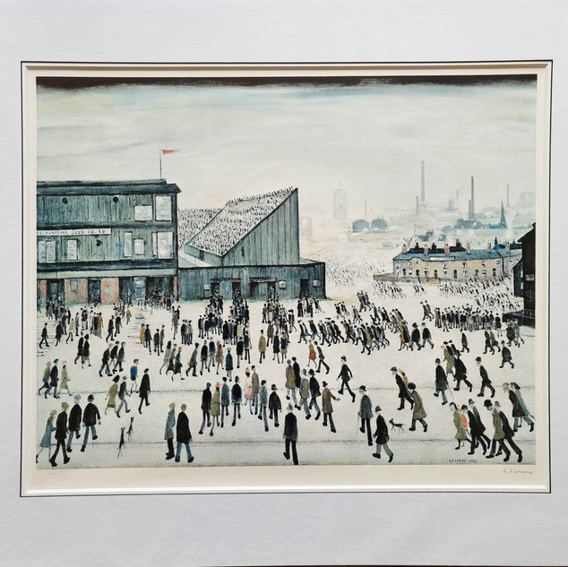 lowry-goingtothematch-mounted.jpg
