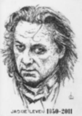 Jackie Leven - Ink Portrait - Bill Taylo