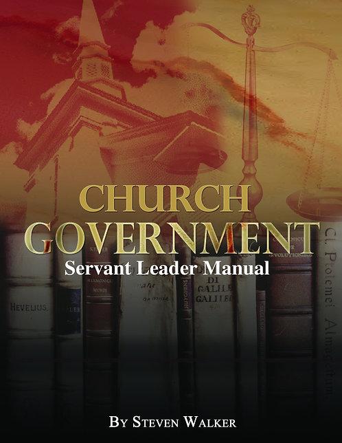 Church Government Servant Leader Manual