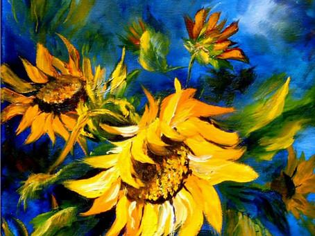 Sunflowers on My Desk