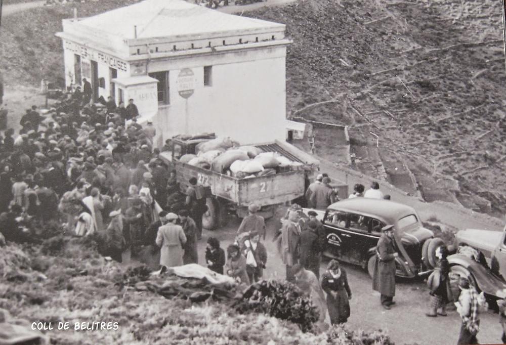 Coll de Belitres, 1939