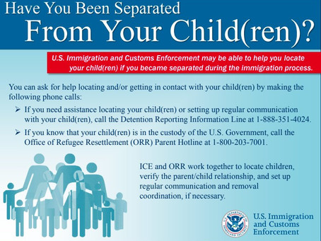 Let ICE Help You Find Your Kids