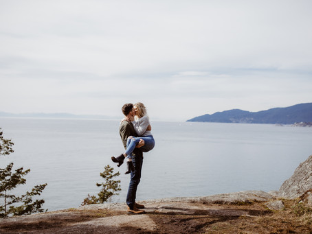 Zack & Chelsey's West Vancouver Engagement