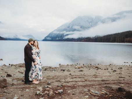 Tyler & Sarah's Alouette Lake Engagement