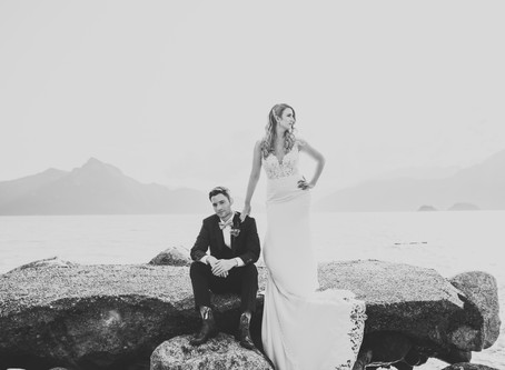 Frans & Erin's Furry Creek Wedding