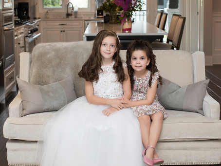 Mikaela's First Communion & Alessia's Confirmation