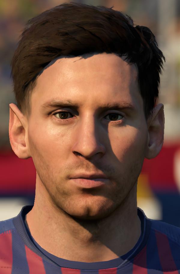 Messi Face Update