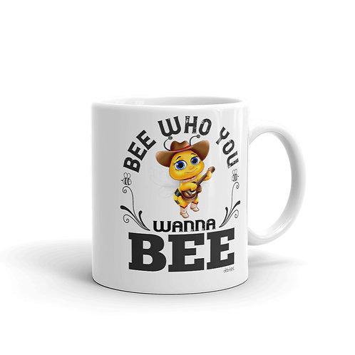 Bee Who You Wanna Bee Mug
