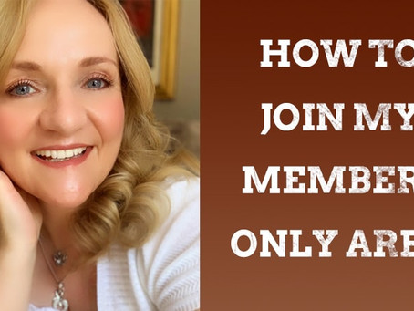 How to Join My Members Only Area