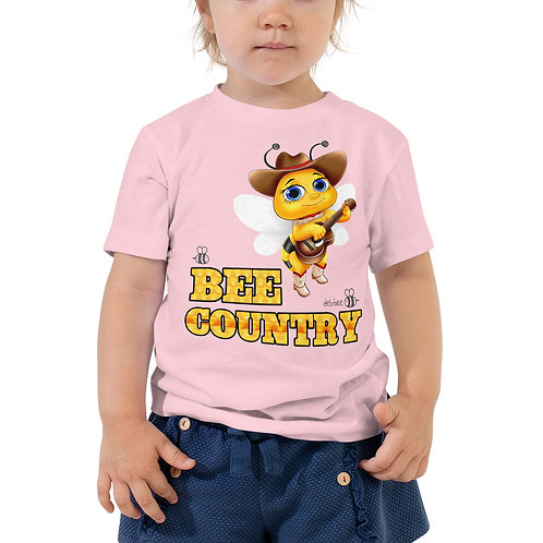 Bee Country Toddler Short Sleeve Tee