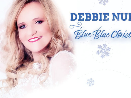 "A Magical Christmas Surprise - Debbie Nunn's  Christmas single ""Blue Blue Christmas"""
