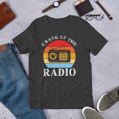Debbie Nunn Official Merchandise Unisex T-Shirt - Crank Up The Radio