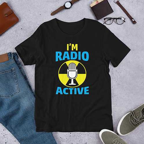 Debbie Nunn Official Merchandise Short-Sleeve Unisex T-Shirt - Radio Active