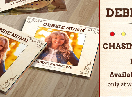 UK Country Singer-Songwriter Debbie Nunn - E.P release 'Chasing Rainbows'