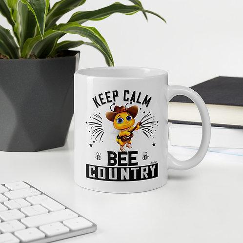 Keep Calm Bee Country Mug