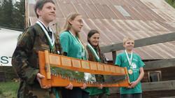 1st Place Junior Team C Beavers