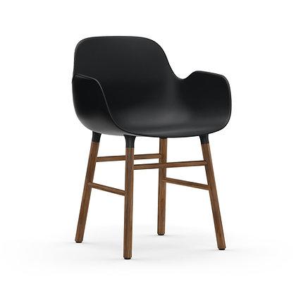 NORMANN COPENHAGEN Form Armchair Walnut