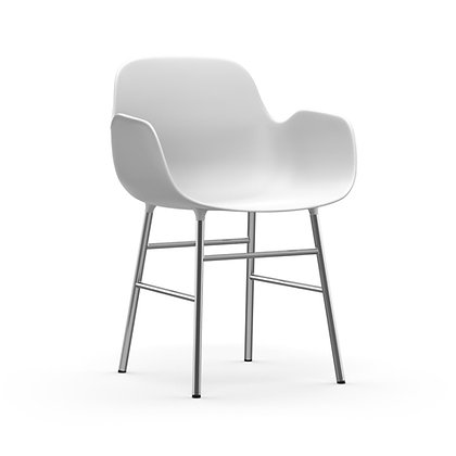 NORMANN COPENHAGEN Form Armchair Chrome