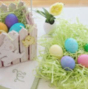 페인트 부활절 달걀