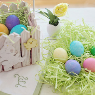 Easter Colorful Egg   Kringles   Home Decor