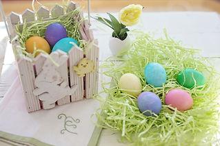 Ovos de Páscoa pintado