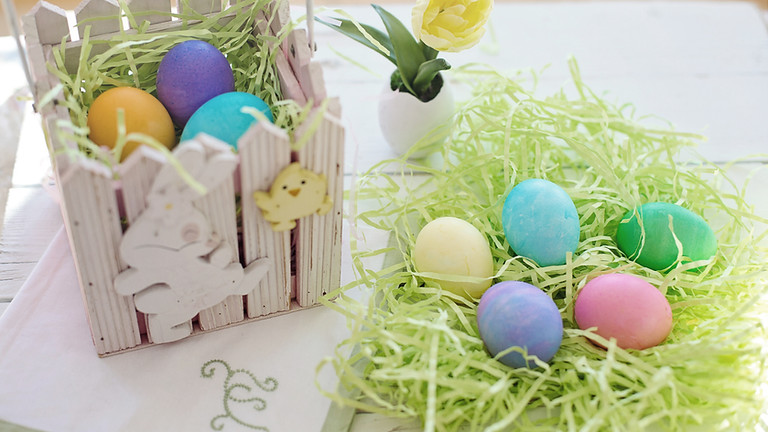 Free Easter Giveaway - Plastic Eggs, Baskets, Egg Dye Kits & Much More