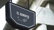 Panneau El Burrito
