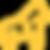 logo le gorille jaune