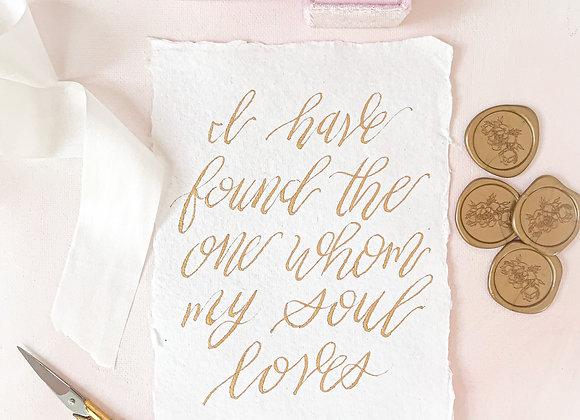 Song of Solomon Verse