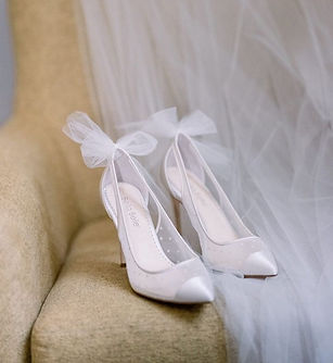 Bridal Shoes sold at Halifax Bridal Salon located in Nova Scotia. Yours By E