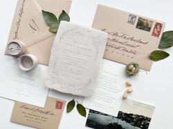Warm Winter Wedding Invitation