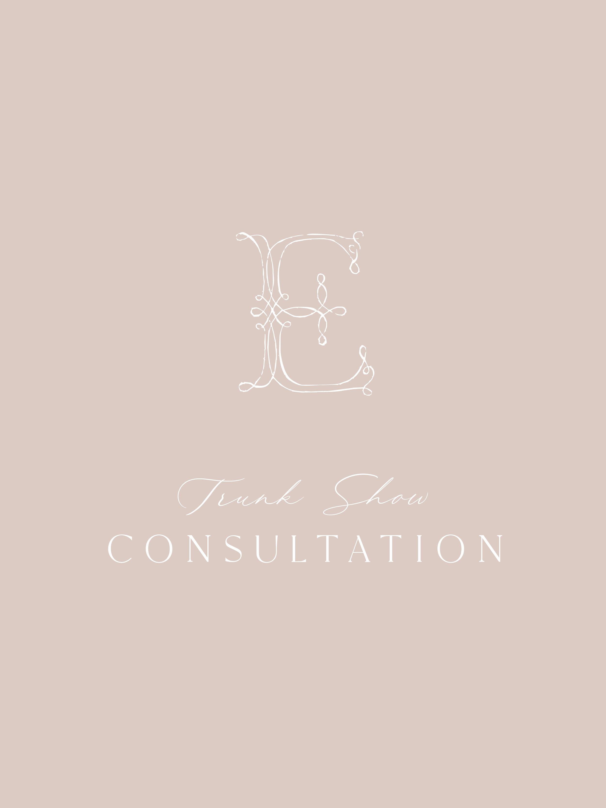 Trunk Show Consultation