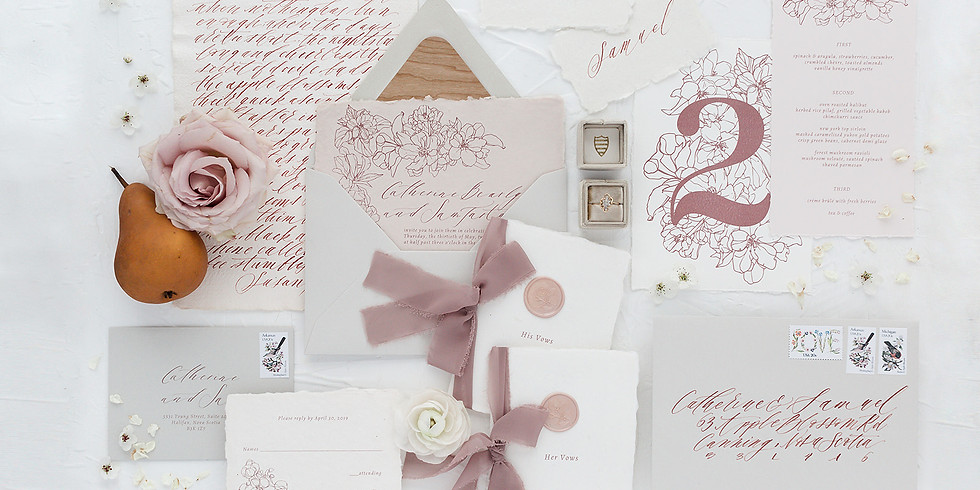 Wedding Stationery Consultation August 16