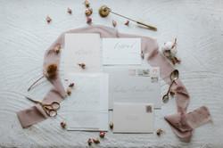 Modern and Minimal Wedding Invitation