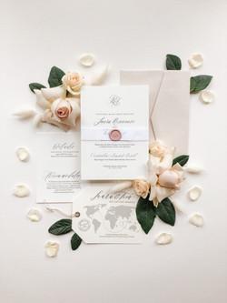 Classic and Elegant Wedding Invitations